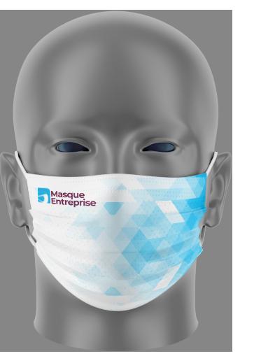 Masque 3B personnalisé