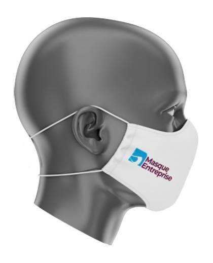 Masque premium personnalisé